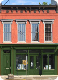 Come see us at our office in downtown Frankfort, KY
